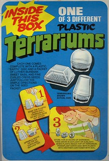Post Cereal Terrariums - 1975 | by Waffle Whiffer