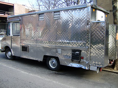 Quilted Stainless Steel Delight Step Van | Ezra Wolfe | Flickr : quilted stainless - Adamdwight.com