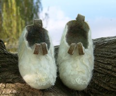 Felted Slipper | by felt feeling