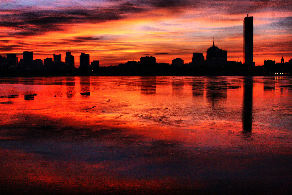 Image result for Boston Sunrise