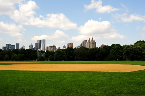 Baseball field in Central Park | by Ed Yourdon