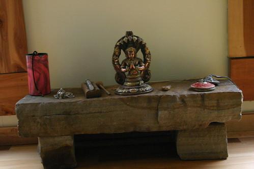 Meditation Altar In Yoga Room Leah Braynichols Flickr