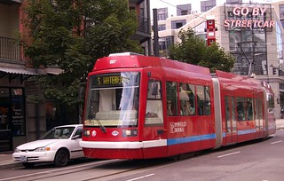 Go by Streetcar (Portland, Oregon) | by ~MVI~ (warped)