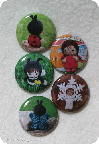 1 inch buttons of my dolls | by *mia*