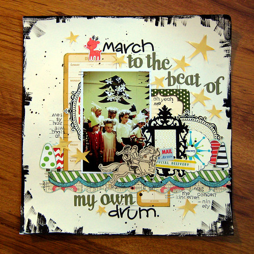 My Own Drum - Red Velvet Kit Club | by Michelle Alynn