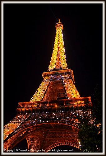 Paris , The Eiffel Tower | by Dolwolfian