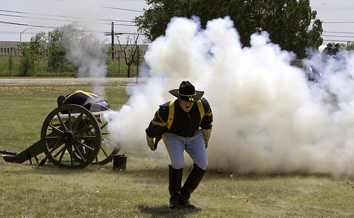 Cannon Firing | by Steve Russell Photography