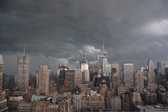 Fwd: Storm photos of Midtown last night - Gloomy Gotham | by gothamistllc