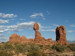 Balanced Rock, Arches National Park | by One Man Walking