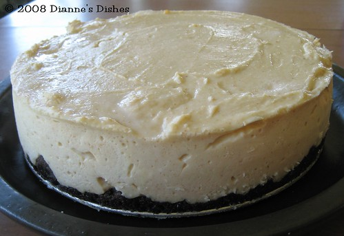 Peanut Butter Cheesecake: Baked and Ready to Serve | by Dianne's Dishes