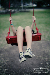 Mad chucks and red swing | by Laura Burlton - www.lauraburlton.com
