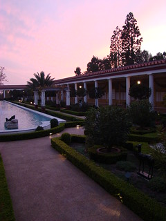 Getty Villa peristyle at sunset | by F. Tronchin