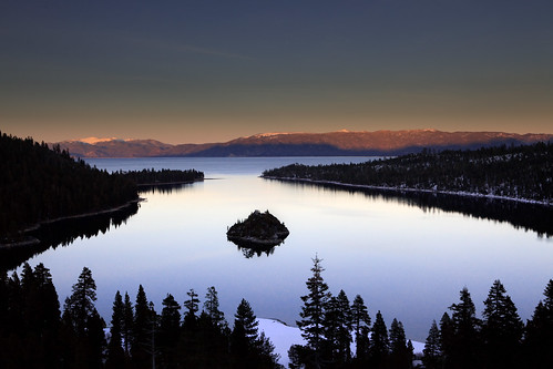 Emerald Bay before sunset | by @ayn