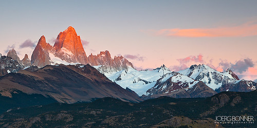 Glowing Fitz Roy | by Joerg Bonner