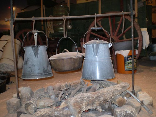 Coffee pots on an open fire Olympus digital camera Flickr