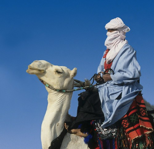 Touareg on Camel - Sahara | by Rudy A