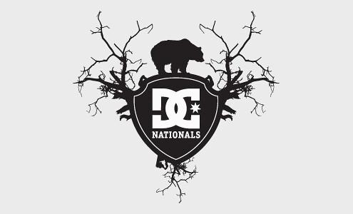 Dc Nationals Logo Design For Dc Shoes Nationals Skateboard Flickr