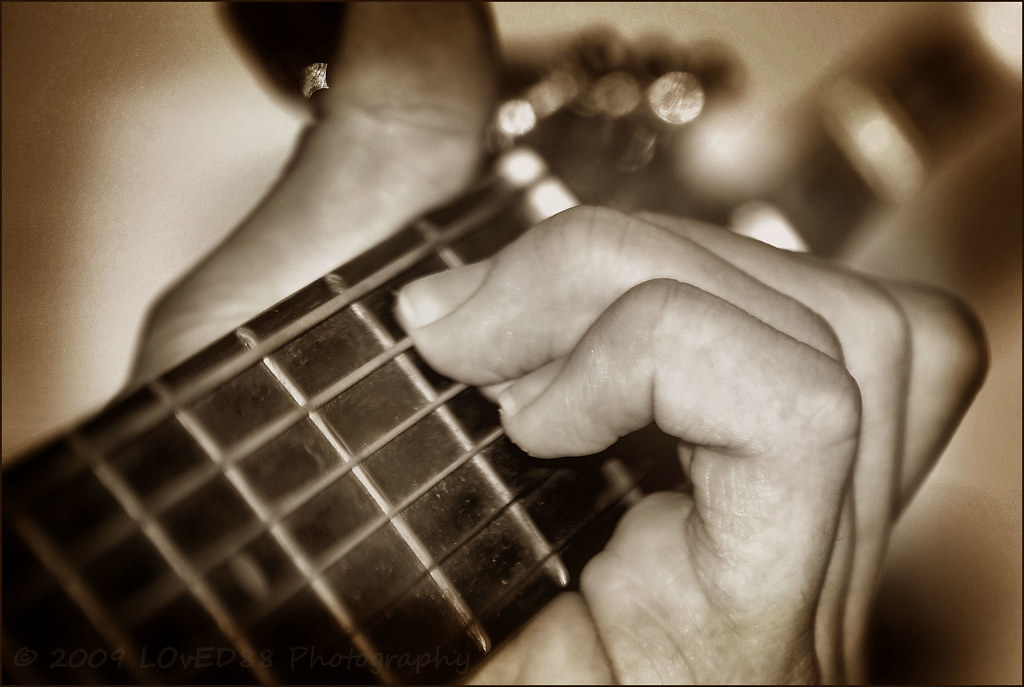 Struck a Chord | A little music to brighten your Friday! | Ed | Flickr