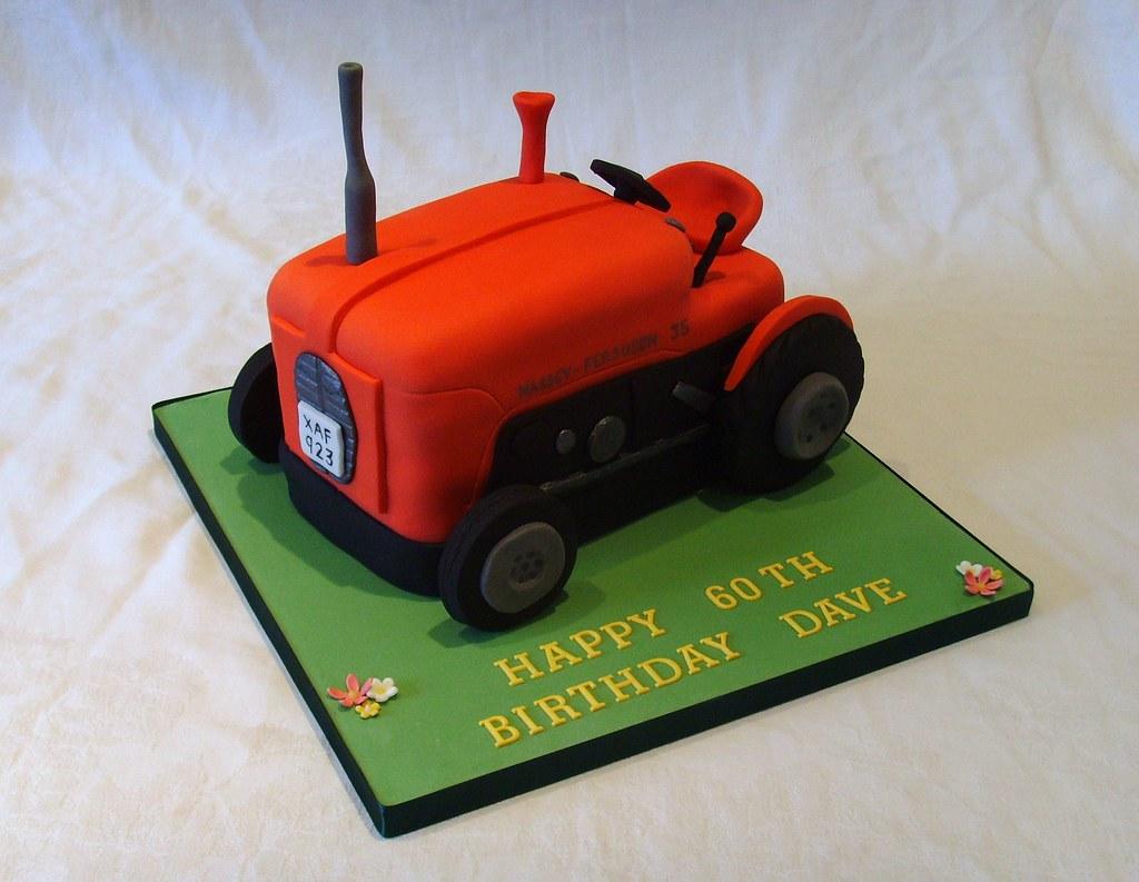 Ferguson Massey 35 Tractor Birthday Cake Ferguson Massey 3 Flickr