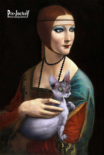 LADY WITH A ... CAT | by The PIX-JOCKEY (visual fantasist)