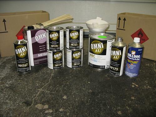 Clear Plastitic Primer Spray Paint