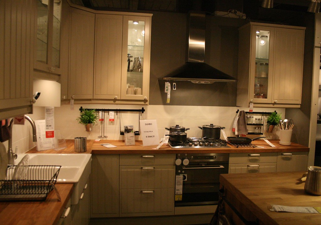 Keuken Ikea Beige : Duvbo kitchen ikea the more is see it the more i love it