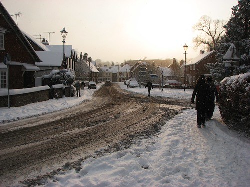 Alton in the Snow | by TimBurnsArt