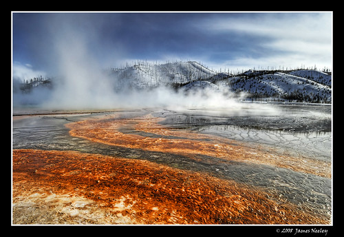 Grand Prismatic Spring | by James Neeley