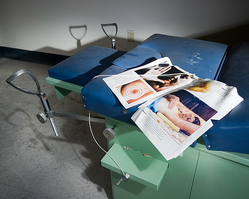 Gyno Anxiety Exam Table W Metal Stirrups Amp A Self