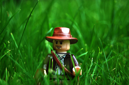 LEGO Indiana Jones in Grass | by Rob Young