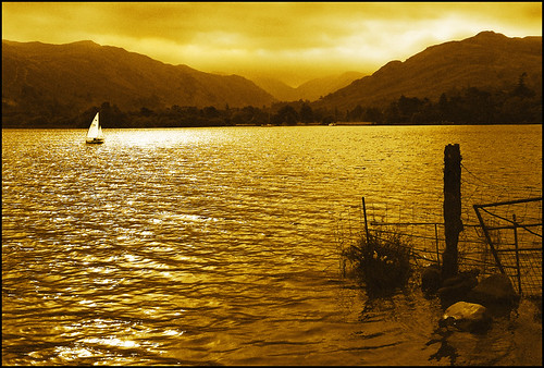 Sailing on Ullswater! | by adrians_art