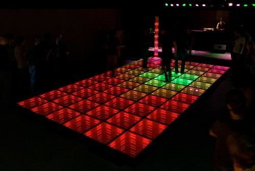 Sustainable Dance Floor at WATT Rotterdam- Daan Roosegaarde | by Studio Roosegaarde