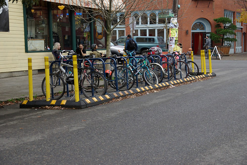 on-street bicycle parking | by justsmartdesign