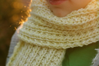 Scrunchable Scarf in Malabrigo 'Butter' | by add_knitter