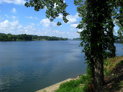 The Beautiful Ohio River At Marietta, Ohio (8/8/08). | by Marietta Clicker
