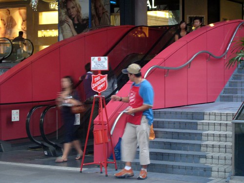 singaporean salvation army bell ringer | by goodiesfirst