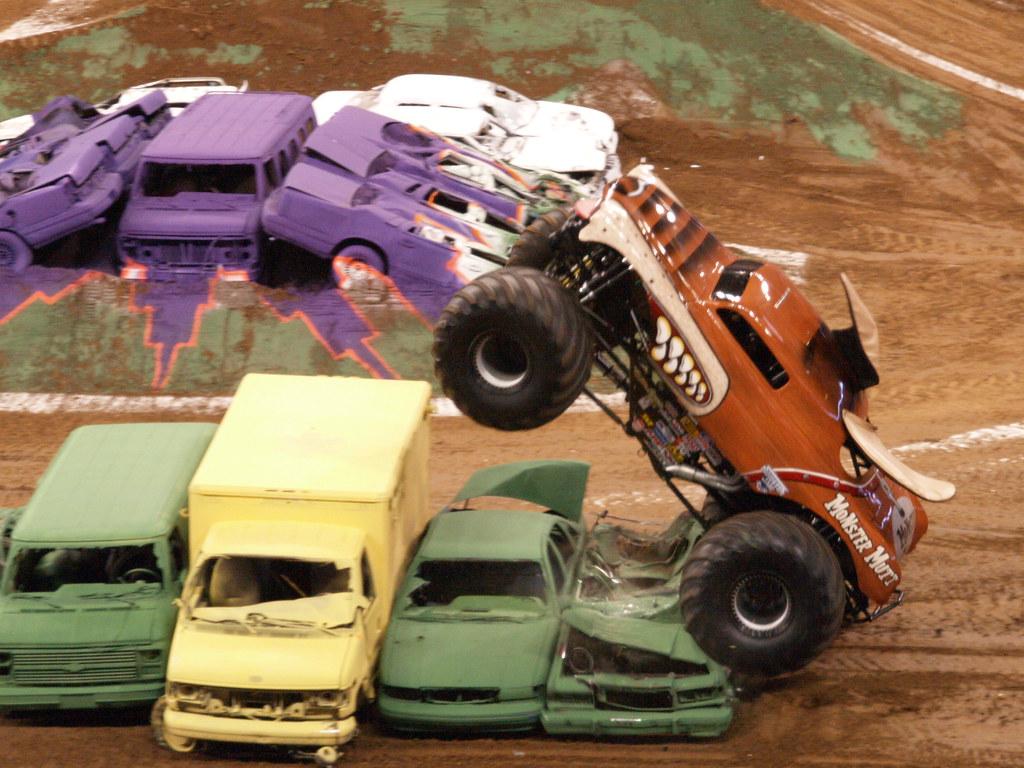 Houston Texas Reliant Stadium Monster Jam Monster Trucks S Flickr - Monster car show houston tx