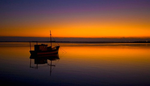 Fishing Boat at Sun-rise | by Dylan.Edwards38.