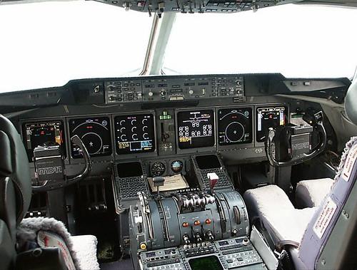 Mcdonnell Douglas Md 11 Cockpit Aviacion Tv Flickr