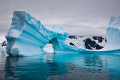 Antarctic Peninsula - Ice Arch 4, Pleneau Bay | by IanLyons
