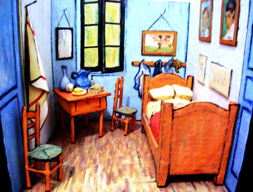 Maquete do quarto de Van Gogh   kaioratier   Flickr