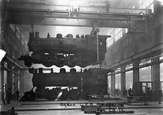 Engines at Ogden Shops in Calgary Image No PA 3442 3