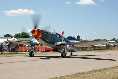 P 51b Mustang Quot Old Crow Quot Col Ce Quot Bud Quot Aanderson Flew The