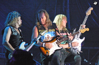 Iron Maiden - Adrian Smith, Dave Murray and Janick Gers | by The Crow2