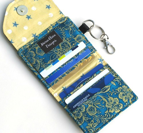 ID Wallet and Key Ring | by Maria Elena Designs