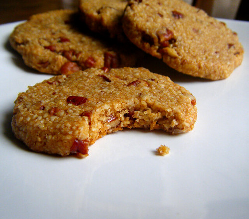 Chewy Honey Nut Cookies | by HealthyIndulgencesBlog