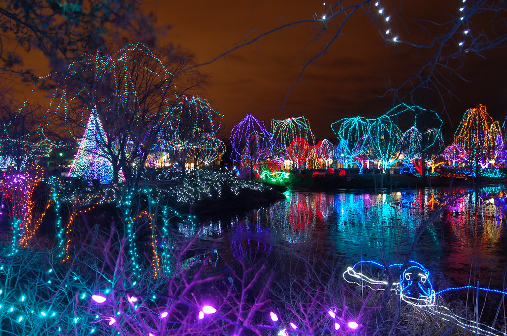 columbus zoo wildlights christmas lights by cdubya1971 - Christmas Lights At The Zoo