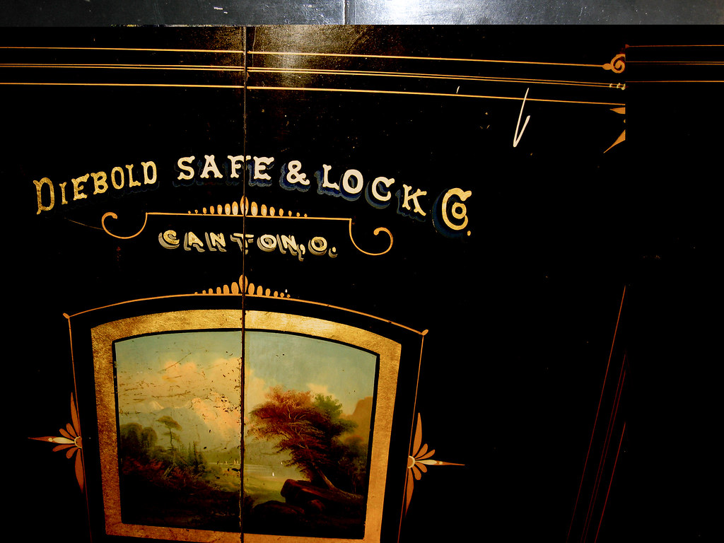 Hey, I Open A Diebold Safe Every Day    | but not like that
