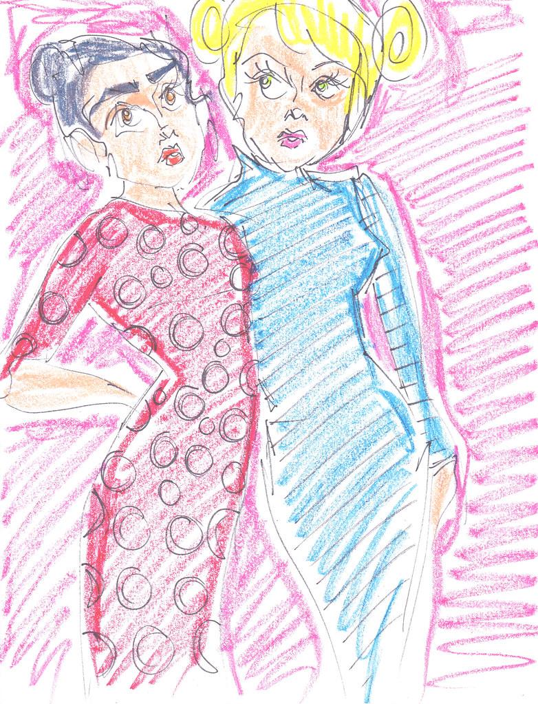 Vogue Coloring Book 1 Sarsparilla Valentine Flickr
