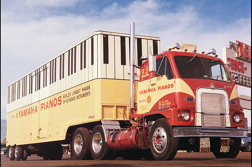 1965 White 4000 Semi Tractor : International emeryville klintan flickr